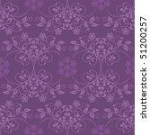 Beautiful Seamless Purple...