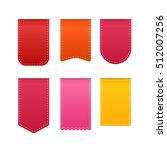 different color shopping tags... | Shutterstock .eps vector #512007256