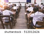 students are learning the...   Shutterstock . vector #512012626