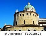 view of two churches in brescia ... | Shutterstock . vector #512018626
