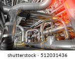 equipment  cables and piping as ... | Shutterstock . vector #512031436