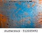 scratched metal | Shutterstock . vector #512035492
