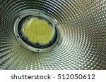 led down light close up  | Shutterstock . vector #512050612