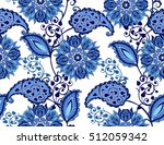 traditional oriental seamless... | Shutterstock .eps vector #512059342