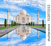Amazing View On The Taj Mahal...