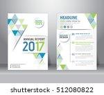 abstract vector modern flyers... | Shutterstock .eps vector #512080822