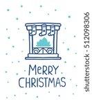 vector illustration of blue... | Shutterstock .eps vector #512098306