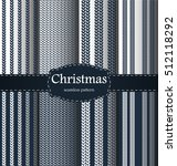 christmas pattern. merry... | Shutterstock .eps vector #512118292