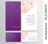 background for your card  flyer ... | Shutterstock .eps vector #512148325