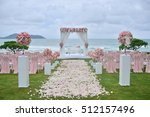 wedding setup | Shutterstock . vector #512157496