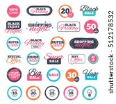 sale shopping stickers and... | Shutterstock .eps vector #512178532