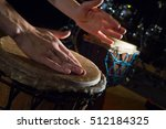 People Hands Playing Music At...