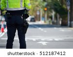 traffic police traffic control... | Shutterstock . vector #512187412