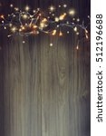 christmas lights. | Shutterstock . vector #512196688