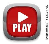 play button | Shutterstock .eps vector #512197702