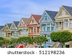 san francisco colorful... | Shutterstock . vector #512198236