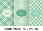 retro mint and emerald vector... | Shutterstock .eps vector #512198782