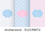 baby pastel different vector... | Shutterstock .eps vector #512198872
