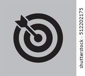 dart icon vector | Shutterstock .eps vector #512202175