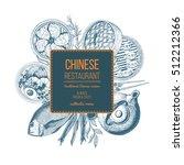 Vector Asian Food Illustration...