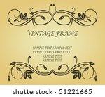 Antique Vintage Frame On...
