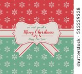 christmas and new year  vector... | Shutterstock .eps vector #512229328