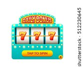 cartoon slot machine. daily...