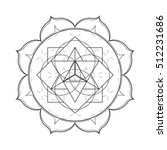 contour monochrome design... | Shutterstock . vector #512231686