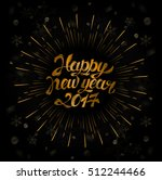 background for 2017 happy new... | Shutterstock .eps vector #512244466