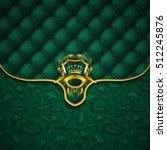 elegant golden shield with gold ...   Shutterstock .eps vector #512245876