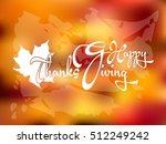 thanksgiving day   Shutterstock .eps vector #512249242