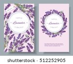 vector lavender natural... | Shutterstock .eps vector #512252905