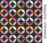 geometric seamless pattern with ...   Shutterstock .eps vector #512259466