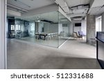 meeting zone in the office in a ... | Shutterstock . vector #512331688