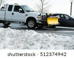 Truck With Snowplow Installed...