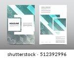 brochure layout template flyer...   Shutterstock .eps vector #512392996