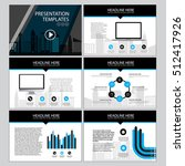 corporate presentation vector... | Shutterstock .eps vector #512417926