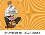 stock illustration. people in... | Shutterstock .eps vector #512430556