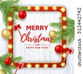 christmas or new year banner....   Shutterstock .eps vector #512442742
