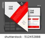 flyer design background.... | Shutterstock .eps vector #512452888