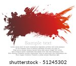 red ink path | Shutterstock .eps vector #51245302