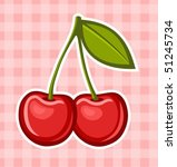 cherry | Shutterstock .eps vector #51245734