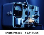 old portable electricity... | Shutterstock . vector #51246055