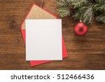 red envelope on christmas...   Shutterstock . vector #512466436