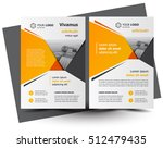 flyer brochure design  business ... | Shutterstock .eps vector #512479435