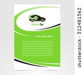 brochure electric car template... | Shutterstock .eps vector #512481562