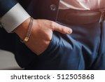 body detail of a business man.... | Shutterstock . vector #512505868