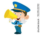 police security vector   Shutterstock .eps vector #512512252