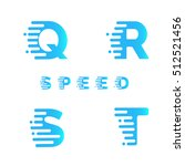 typeface. font. alphabet.... | Shutterstock .eps vector #512521456