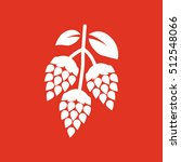 hops icon. beer and hop  hops...